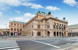 维也纳国家歌剧院议院, Staatsope,奥地利 库存照片