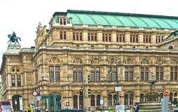 维也纳国家歌剧院,奥地利 免版税图库摄影