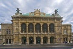 维也纳国家歌剧院,奥地利 库存图片