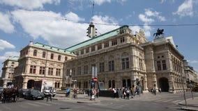 维也纳国家歌剧院 免版税库存图片