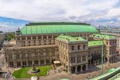 维也纳国家歌剧院 免版税库存照片