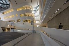 维也纳大学-图书馆内部 免版税库存图片