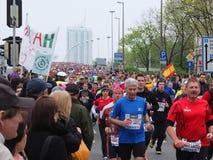 维也纳市马拉松 库存照片