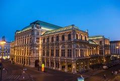 维也纳歌剧 库存照片