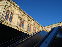 维也纳歌剧 免版税库存图片