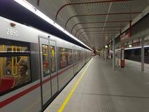 维也纳的地铁 库存图片