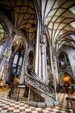 维也纳的大教堂 图库摄影