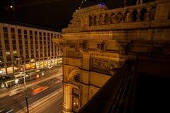 维也纳的状态歌剧的片段 库存图片