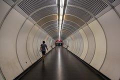 维也纳管隧道 免版税库存图片
