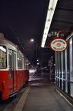 维也纳街道  免版税库存照片