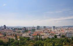 维也纳视图 奥地利 图库摄影