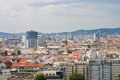 维也纳视图 奥地利 库存图片