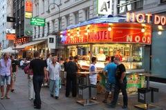 维也纳酒吧 库存图片