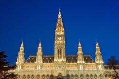维也纳香港大会堂 免版税库存照片