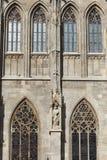 维也纳,奥地利, E U - 2016年6月05日:圣斯蒂芬的大教堂(S 图库摄影