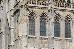 维也纳,奥地利, E U - 2016年6月05日:圣斯蒂芬的大教堂(S 免版税库存图片