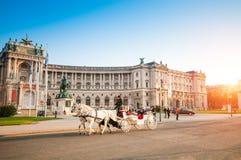 维也纳,奥地利- 2015年10月19日:传统古板的fi 图库摄影