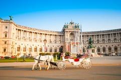 维也纳,奥地利- 2015年10月19日:传统古板的fi 库存图片