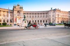 维也纳,奥地利- 2015年10月19日:传统古板的fi 库存照片