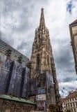 维也纳,奥地利- 2016年10月05日:圣斯蒂芬` s大教堂,维也纳,奥地利 免版税库存图片