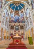 维也纳,奥地利- 2014年2月17日:Carmelites教会长老会的管辖区  免版税图库摄影