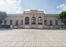 维也纳,奥地利- 2016年10月07日:MuseumsQuartier和Tanzquartier维恩在维也纳,奥地利 库存图片
