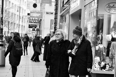 维也纳,奥地利2016年11月18日 库存照片