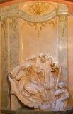 维也纳-从圣约翰礼拜堂的安心Nepomuk 免版税库存照片