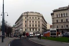 维也纳-奥地利的首都 根据研究机构绸缎商的结果,维也纳在质量的世界占了优势 图库摄影