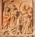 维也纳-耶稣的评断彼拉多安心的 免版税图库摄影