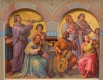 维也纳- holys合唱在天堂 库存图片