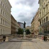 维也纳Mariafilf 免版税图库摄影