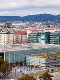 维也纳Praterstern火车站,奥地利 库存图片