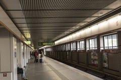 维也纳U-Bahn 库存图片