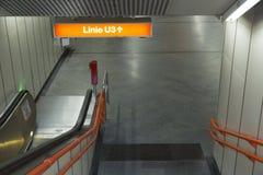 维也纳U-Bahn 免版税图库摄影