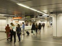 维也纳U-Bahn 库存照片