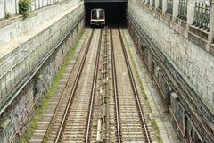 维也纳U-Bahn 免版税库存照片