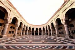 也门。萨纳。萨利赫清真寺 图库摄影