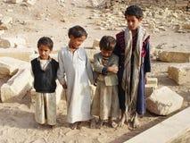 也门孩子 免版税库存照片
