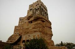也门萨那Dal Al哈吉尔阿訇yahya 免版税库存照片