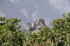 也门建筑学 库存图片