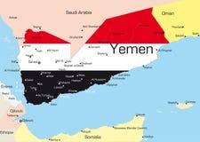 也门 向量例证