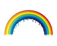 也corel凹道例证向量 彩虹 库存图片