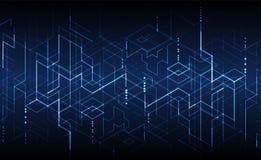 也corel凹道例证向量 数字技术和工程学backgrou 皇族释放例证