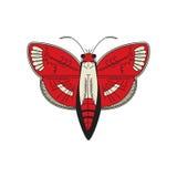 也corel凹道例证向量 概述蝴蝶 皇族释放例证