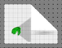 也corel凹道例证向量 库存照片