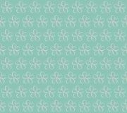也corel凹道例证向量 10 eps 在一个蓝色背景的花 Seaml 免版税图库摄影
