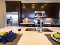 习惯厨房 库存照片