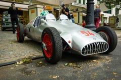习惯赛车、基于阿尔法・罗密欧和引擎BMW 328, 1951年 图库摄影