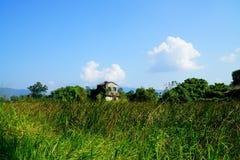 乡下优美的风景  免版税库存照片
